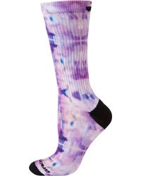 Brooks Pacesetter Empower Her Collection Crew Socks - Purple