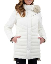 Obermeyer Blossom Down Parka - White