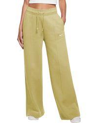Nike Sportswear Trend Essential Fleece Wide Pants - Multicolor
