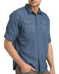 Prana Citadel Shirt - Blue