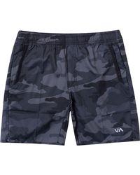 RVCA Yogger Iv Shorts - Blue