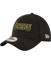 KTZ Los Angeles Lakers Black Mamba 39thirty Stretch Fit Hat