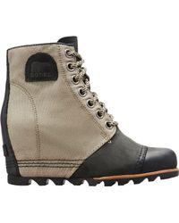 sorel women's wedge boots sale