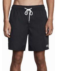 RVCA - Opposites Elastic 2 Board Shorts - Lyst