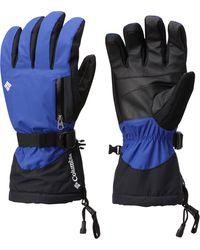 Columbia Bugaboo Interchangable Gloves - Blue