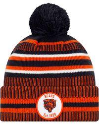 KTZ - Chicago Bears Sideline Home Sport Pom Knit - Lyst