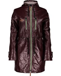 Obermeyer Emmie Trench Jacket - Purple