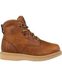 Georgia Boot - Georgia Boot Wedge Work Boots - Lyst