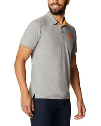 Columbia - Tennessee Volunteers Grey Tech Trail Polo - Lyst