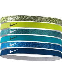 Nike | Swoosh Headbands – 6 Pack | Lyst