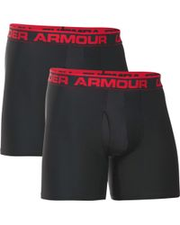 "Under Armour - Men's Ua Original Series 6"" Boxerjock® 2-pack - Lyst"