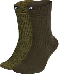 Nike - Sportswear Sneaker Sox Jdi Crew Socks 2 Pack - Lyst