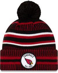 KTZ - Arizona Cardinals Sideline Home Sport Pom Knit - Lyst