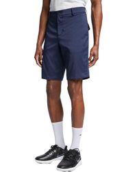 Nike Flat Front 10.5'' Golf Shorts - Blue