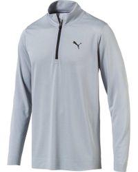 13ac6482a0 PUMA Golf Men's Evoknit Seamless 1/4 Zip Sweater in Black for Men - Lyst