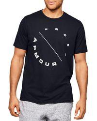 Under Armour Eclipse Circle Short Sleeve T-shirt - Black