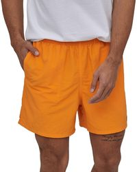 "Patagonia Baggies 5"" Shorts - Orange"