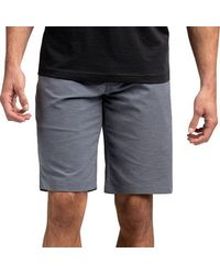 Travis Mathew Travismatthew Cross Check Shorts - Blue