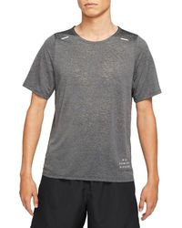 Nike - Run Division Rise 365 Short Sleeve T-shirt - Lyst