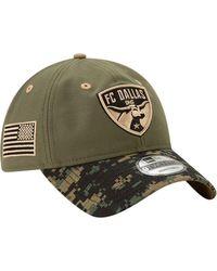 KTZ - Fc Dallas Military Appreciation 9twenty Adjustable Hat - Lyst