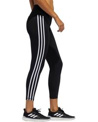 adidas - Believe This 2.0 3-stripes 7/8 Tights - Lyst