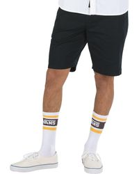Vans Authentic Strech Chino Shorts - Black