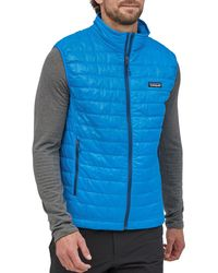 Patagonia Nano Puff Vest - Blue
