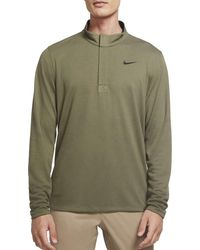 Nike Dri-fit Victory 1⁄2 Zip Golf Pullover - Green