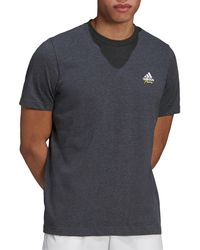 adidas Tennis Graphic Logo T-shirt - Gray