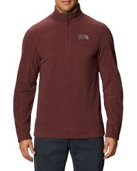Mountain Hardwear Microchill 2.0 1⁄2 Zip Fleece Pullover - Multicolor
