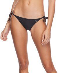 Body Glove Smoothies Tie Side Bikini Bottoms - Black