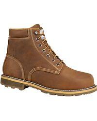 Carhartt 6'' Waterproof Work Boots - Brown