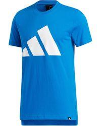 adidas Urban Pack Split T-shirt - Blue