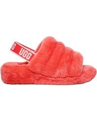 UGG Fluff Yeah Slippers - Red