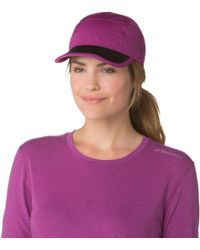 Brooks - Seattle Collapsible Running Hat - Lyst