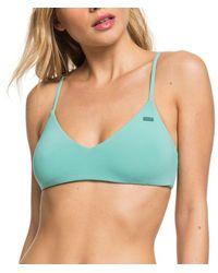 Roxy - Beach Classics Athletic Triangle Bikini Top - Lyst