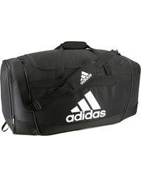 adidas Defender Iii Large Duffle Bag - Black