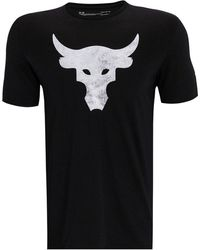 Under Armour - Project Rock Brahma Bull Graphic T-shirt - Lyst