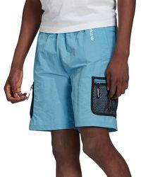 adidas Originals Adventure Woven Cargo Shorts - Blue