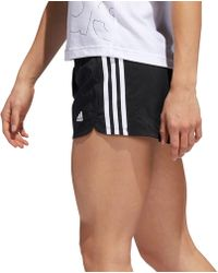 adidas - Pacer 3-stripes Woven Shorts - Lyst