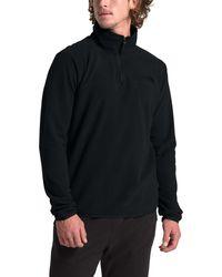 The North Face Tka Glacier 1⁄4 Zip Pullover - Black