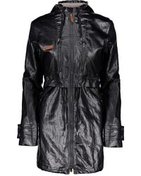 Obermeyer Emmie Trench Jacket - Black