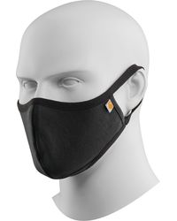 Carhartt Adult Cotton Ear Loop Face Mask - Black