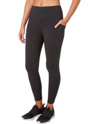 Reebok - Stretch Cotton Ankle 7/8 Tights - Lyst
