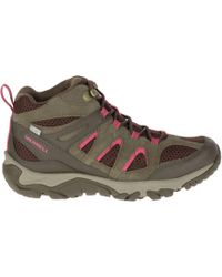 Merrell - Outmost Mid Ventilator Waterproof Hiking Boots - Lyst