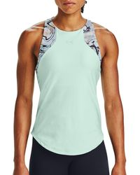 Under Armour Armor Sport 2-in-1 Printed Tank - Blue