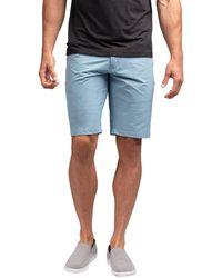 Travis Mathew Ready Or Not Golf Shorts - Blue