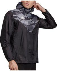adidas Tan Adv Windbreaker Jacket - Black