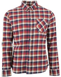 United By Blue Pitchstone Plaid Long Sleeve Shirt - Red