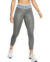 Nike Pro Dri-fit 7/8 Tights - Gray